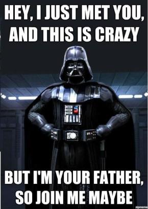 Meme del giorno: Darth Vader e Carly Rae Jepsen – Call MeMaybe