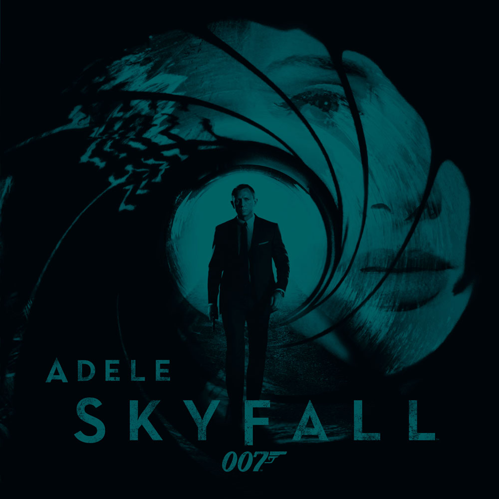adele skyfall 007 James Bond
