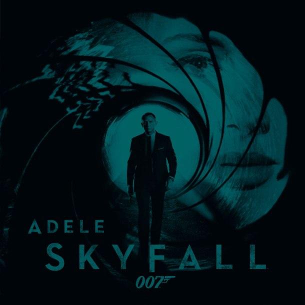 adele skyfall 007 James Bond