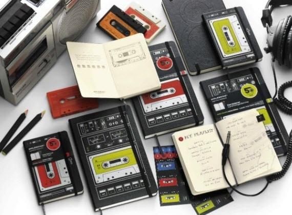 moleskine-audio-cassette edizione limitata