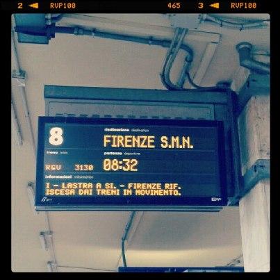 treno per firenze