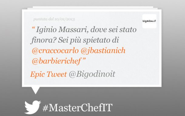 epic tweet masterchef
