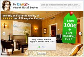 Trivago e il concorso per mystery guest inhotel