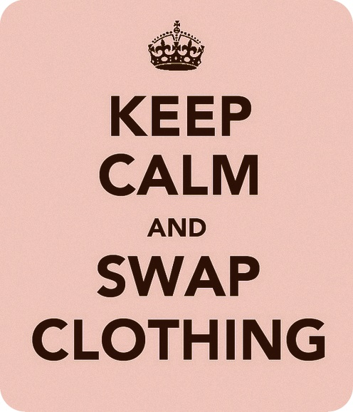 keep calm and swap