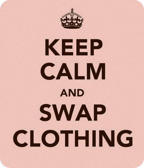 keep calm and swap