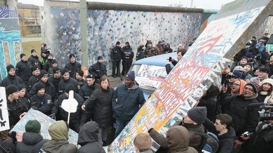 muro berlino rimozione