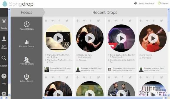 songdrop streaming online musica