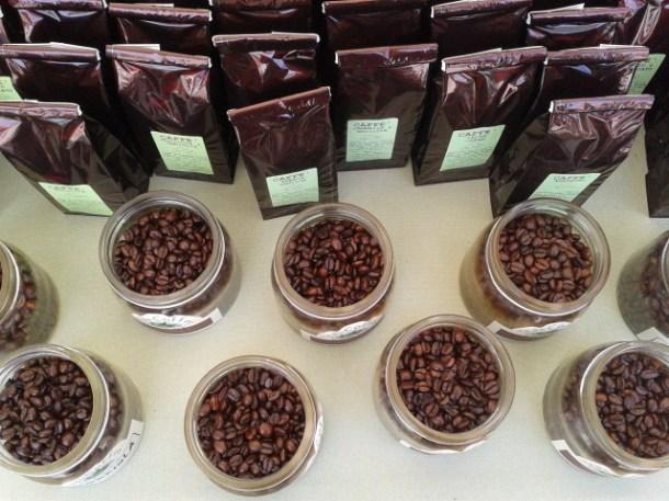 Caffè a Pisa in fiore
