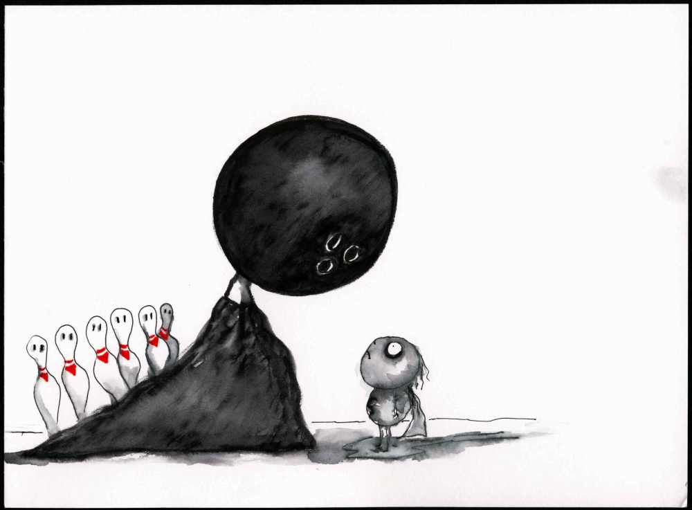 Illustrazione di Tim Burton
