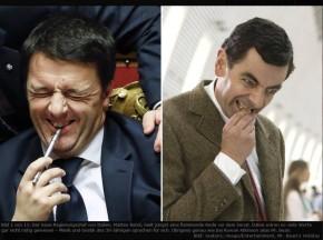 Renzi-Mr. Bean, il caso Die Tageszeitung  e Ransie lastrega