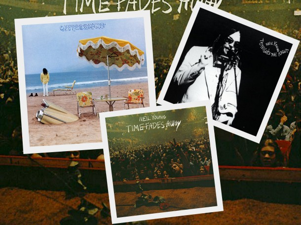Neil Young Time fades away, Tonight's the night, On the beach