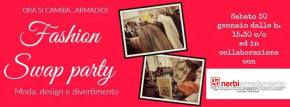 Swap Party 30 gennaio a Carrara: moda, accessori e design